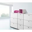 Briefkorb Standard für A4 243x57x335mm Trend Colour pink Kunststoff HAN 1027-X-56 Produktbild Additional View 5 S