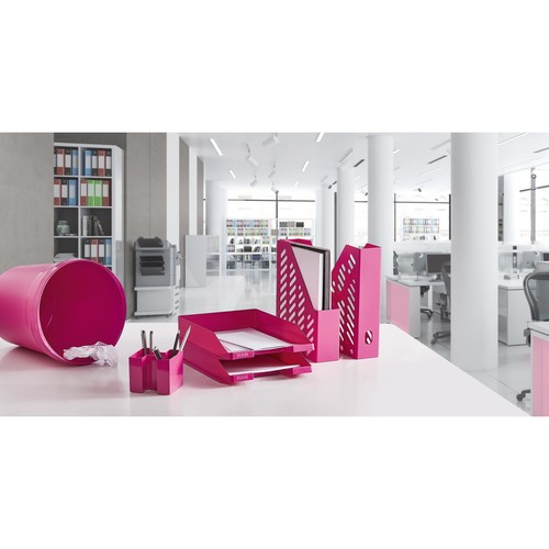 Briefkorb Standard für A4 243x57x335mm Trend Colour pink Kunststoff HAN 1027-X-56 Produktbild Additional View 4 L