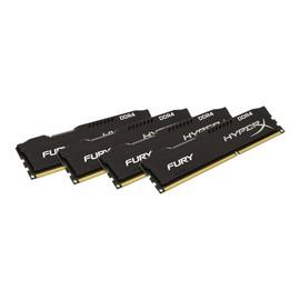 HyperX FURY - DDR4 - 32 GB: 4 x 8 GB - DIMM 288-PIN - 2133 MHz / PC4-17000 - CL14 Produktbild