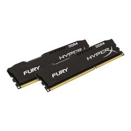 HyperX FURY - DDR4 - 32 GB: 2 x 16 GB - DIMM 288-PIN - 2400 MHz / PC4-19200 - CL15 Produktbild