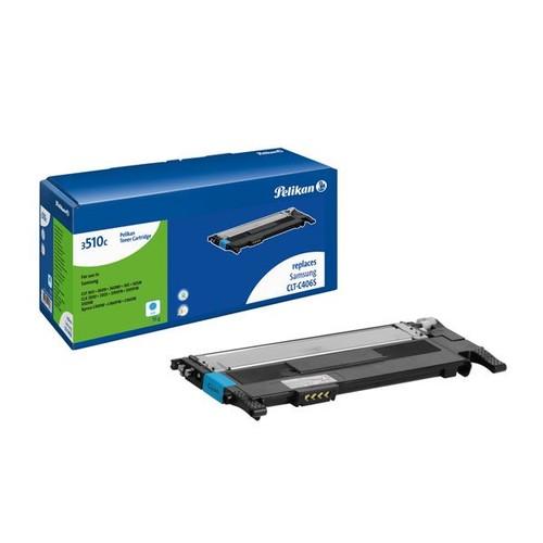 Toner Gr. 3510c (CLTC406S) für CLP-360 1550 Seiten cyan Pelikan 4229717 Produktbild Front View L