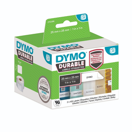 LabelWriter-Adress-Etiketten High Performance 25x25mm weiß Dymo 2112286 (PACK=2 STÜCK à 850 ETIKETTEN) Produktbild