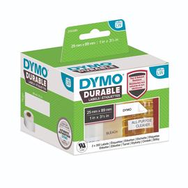 LabelWriter-Adress-Etiketten High Performance 25x89mm weiß Dymo 2112285 (PACK=2 STÜCK à 350 ETIKETTEN) Produktbild