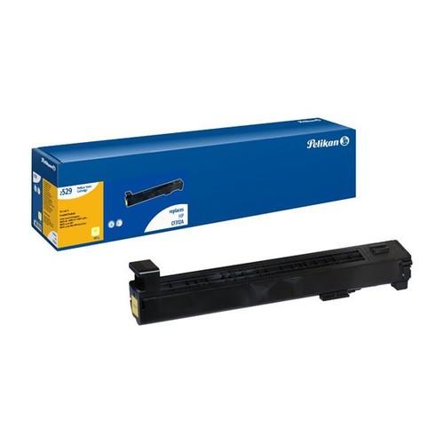 Toner Gr. 2529 (CF312A) für Color LaserJet Enterprise M850 31500 Seiten yellow Pelikan 426227 Produktbild Front View L
