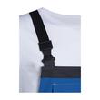 Arbeits-Latzhose perfect Größe 44/46 kornblau UVEX 9883106 Produktbild Additional View 3 S