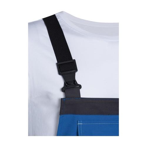 Arbeits-Latzhose perfect Größe 44/46 kornblau UVEX 9883106 Produktbild Additional View 3 L