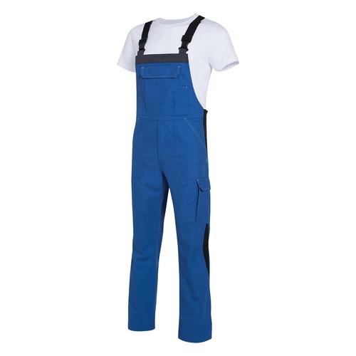 Arbeits-Latzhose perfect Größe 44/46 kornblau UVEX 9883106 Produktbild