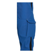 Arbeits-Latzhose perfect Größe 44/46 kornblau UVEX 9883106 Produktbild Additional View 1 S