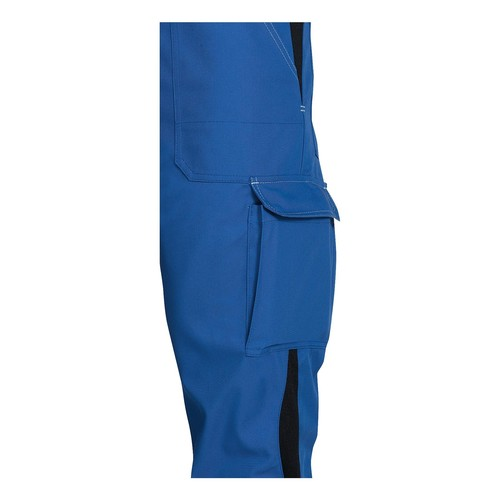 Arbeits-Latzhose perfect Größe 44/46 kornblau UVEX 9883106 Produktbild Additional View 1 L