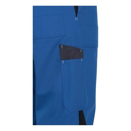 Arbeits-Latzhose perfect Größe 44/46 kornblau UVEX 9883106 Produktbild Additional View 2 L