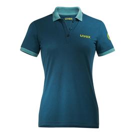 Arbeits-Poloshirt K26 M petrol für Damen UVEX 8945910 Produktbild