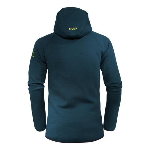 Arbeits-Sweatjacke K26 L petrol UVEX 8944711 Produktbild Additional View 1 L