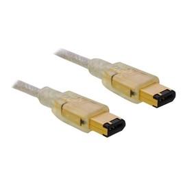 DeLOCK - IEEE 1394-Kabel - FireWire, 6-polig (M) bis FireWire, 6-polig (M) - 2 m Produktbild