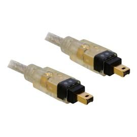 DeLOCK - IEEE 1394-Kabel - FireWire, 4-polig (M) bis FireWire, 4-polig (M) - 1 m Produktbild
