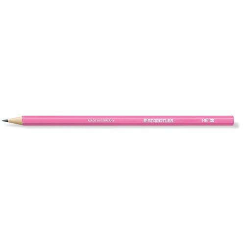Bleistift Wopex 180-HB neon pink Staedtler 180HBF20 Produktbild Front View L