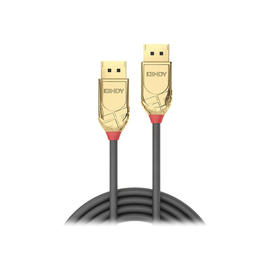 Lindy Gold - DisplayPort-Kabel - DisplayPort (M) bis DisplayPort (M) - DisplayPort 1.2 - 20 m - 4K Produktbild