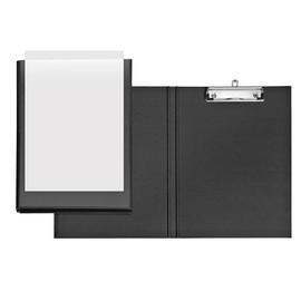 Präsentationsclipboard Velodur mit Einstecktasche A4 Überbreite Metall- klammer PP schwarz Veloflex 4804680 Produktbild