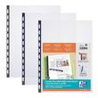 Prospekthüllen Oxford Flexam A4 mit Vario-Zipp transparent 100206999 (BTL=10 STÜCK) Produktbild