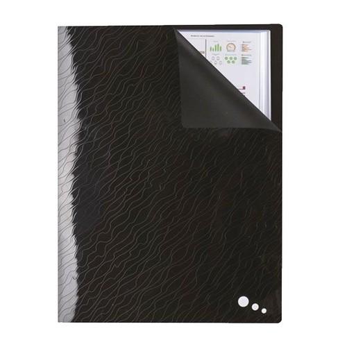 Sichtbuch Art STUDIO mit 20 Hüllen A4 schwarz PP Elba 400078557 Produktbild Additional View 2 L