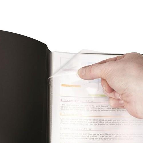 Sichtbuch Art STUDIO mit 20 Hüllen A4 schwarz PP Elba 400078557 Produktbild Additional View 1 L