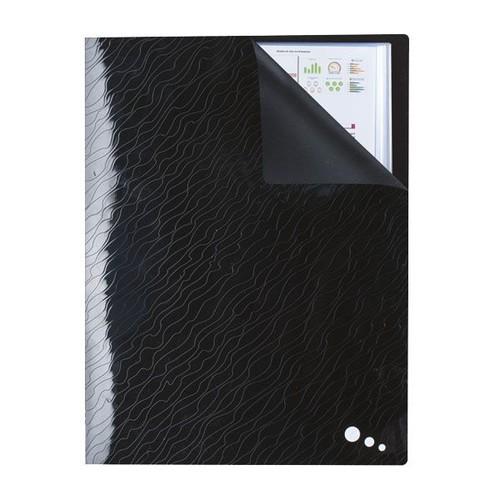 Sichtbuch Art STUDIO mit 40 Hüllen A4 schwarz PP Elba 400068746 Produktbild Additional View 3 L