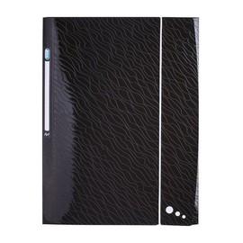 Sammelmappe Art STUDIO mit 3 Klappen und Gummizug A4 schwarz PP Elba 400068811 Produktbild