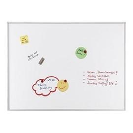 Schreibtafel ECO 200x100cm weiß lackiert magnetisch Franken SC4104 Produktbild