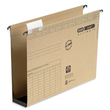 Hängesammler vertic ULTIMATE Kunststoffboden 60mm seitlich begrenzt naturbraun Elba 100552064 (PACK=25 STÜCK) Produktbild