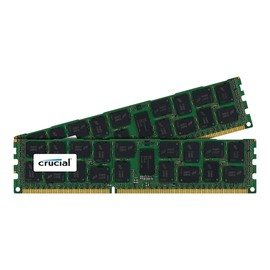 Crucial - DDR3 - 64 GB: 2 x 32 GB - DIMM 240-PIN - 1333 MHz / PC3-10600 - CL9 Produktbild