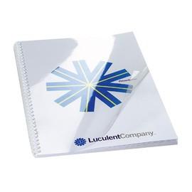 Einbanddeckel HiClear A5 240µ transparent kristallklar GBC 4400025 (PACK=100 STÜCK) Produktbild