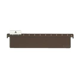 Hänge-Leitkarte für SERIE 18 Hängeregistratur 75mm hoch braun Kunststoff Leitz 1827-00-00 Produktbild
