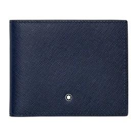 Brieftasche Sartorial Indigo Leder 6cc Montblanc 113217 Produktbild