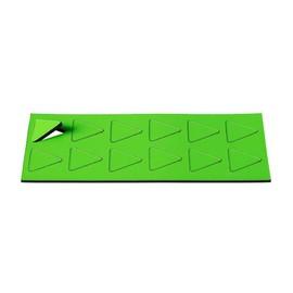 Magnet Symbole Dreieck 19x19mm grün Ultradex 840701 (PACK=12 STÜCK) Produktbild