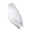 Stehsammler Nimbus 77x250x255mm transparent Acryl Rexel 2101499 Produktbild