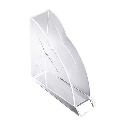 Stehsammler Nimbus 77x250x255mm transparent Acryl Rexel 2101499 Produktbild Front View L