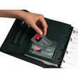 Selbstklebetaschen Pocketfix 106x65mm mit Klappe transparent Durable 8092-19 (PACK=10 STÜCK) Produktbild Additional View 2 S