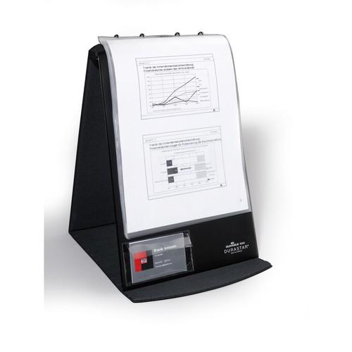 Selbstklebetaschen Pocketfix 106x65mm mit Klappe transparent Durable 8092-19 (PACK=10 STÜCK) Produktbild Additional View 1 L