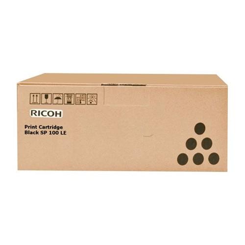 Toner für Aficio SP100/110 1200 Seiten schwarz Ricoh 407166 Produktbild Front View L
