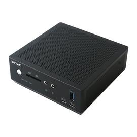 ZOTAC ZBOX M Series MI561 nano - Barebone - Mini-PC - 1 x Core i7 7500U / 2.7 GHz - HD Graphics 620 - GigE Produktbild