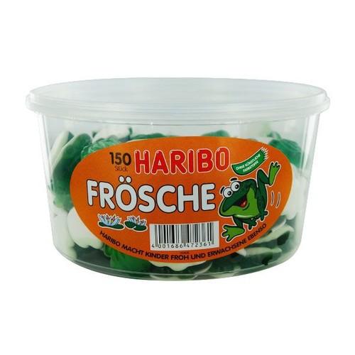 Dankeschön Fruchtgummi Frösche Haribo (ST=1050 GRAMM) Produktbild