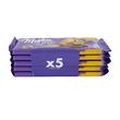 Dankeschön Schokolade Milka & Tuc Milka 5er Pack (PACK=5 TAFELN Á 100 GRAMM) Produktbild Additional View 2 S