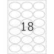 Etiketten Inkjet+Laser+Kopier 63,5x42,3mm auf A4 Bögen Movables weiß wiederablösbar Herma 4358 (PACK=450 STÜCK) Produktbild Additional View 2 S