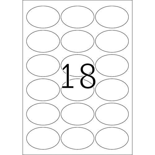 Etiketten Inkjet+Laser+Kopier 63,5x42,3mm auf A4 Bögen Movables weiß wiederablösbar Herma 4358 (PACK=450 STÜCK) Produktbild Additional View 2 L