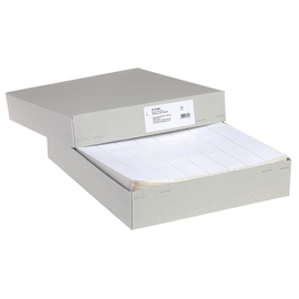Endlosetiketten 81,28x35,7mm weiß 4-bahnig Herma 8242 (PACK=16000 STÜCK) Produktbild