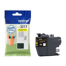 Tintenpatrone für MFC-J5330/5730/6530 550 Seiten yellow Brother LC-3217Y Produktbild