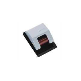 Rollenclip S mit Klemmrollen-Automatik 33x43mm grau selbstklebend MAUL 62410-84 Produktbild
