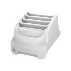 Zebra 4-slot battery charger - Batterieladegerät - für P/N: BTRY-TC51-43HC1-01 Produktbild