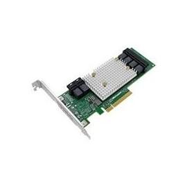Microsemi Adaptec SmartHBA 2100 24i - Speichercontroller (RAID) - 24 Sender/Kanal - SATA 6Gb/s / SAS 12Gb/s Produktbild