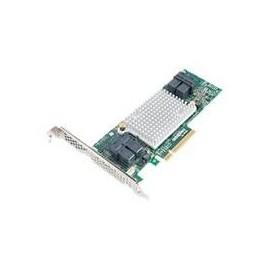 Microsemi Adaptec HBA 1000 16i - Speicher-Controller - 16 Sender/Kanal - SATA / SAS 12Gb/s Low-Profile - 12 Produktbild