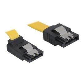 DeLOCK Cable SATA - SATA-Kabel - Serial ATA 150/300/600 - SATA (W) bis SATA (W) - 70 cm - eingerastet, nach oben Produktbild